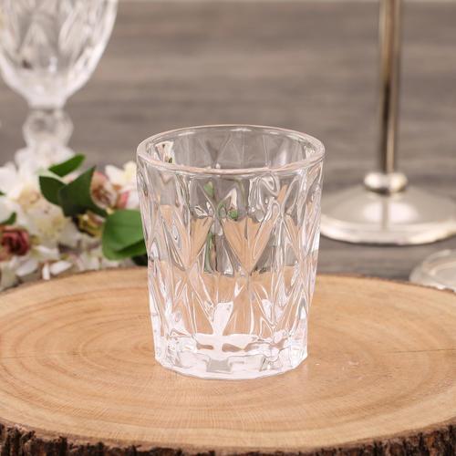 Set of  6, Glass Tumbler