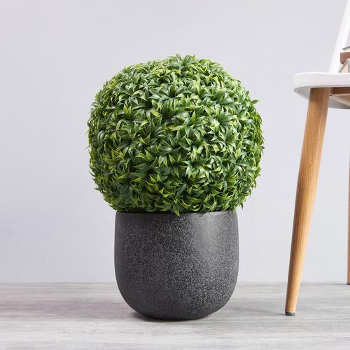Large Mini Vanilla Ball Topiary