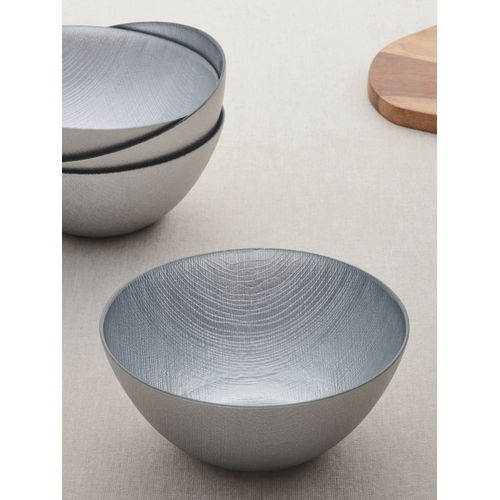 Set of 4 Silver  Small Bowl