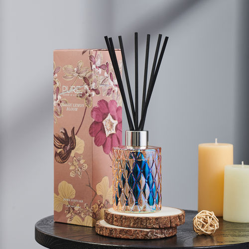 Classic Lemon Bloom Reed Diffuser