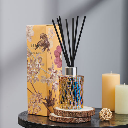 Beige Summer Night Reed Diffuser