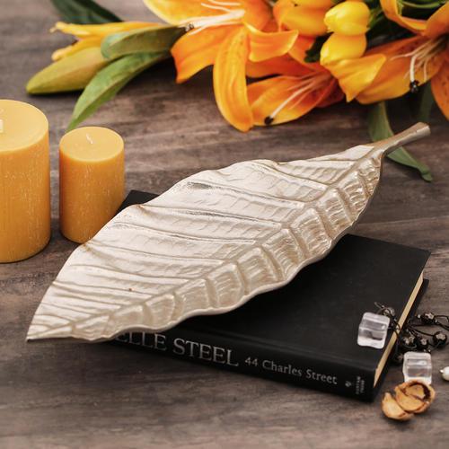 Large Textured Decorative Leaf