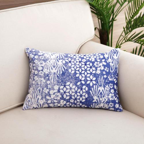 Elisha Blue Cushion Cover