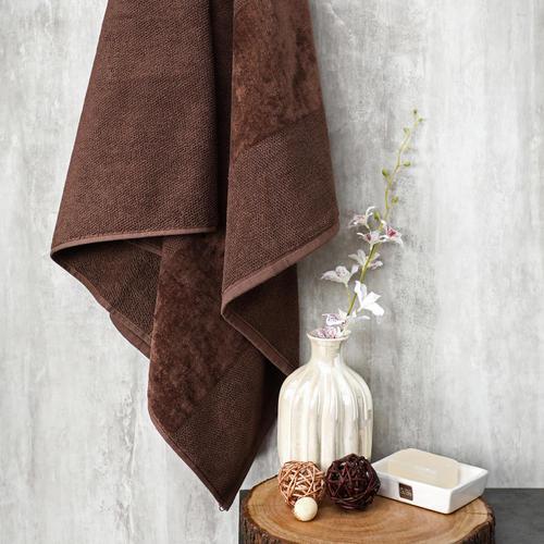 Ivory Combed Cotton Bath Towel