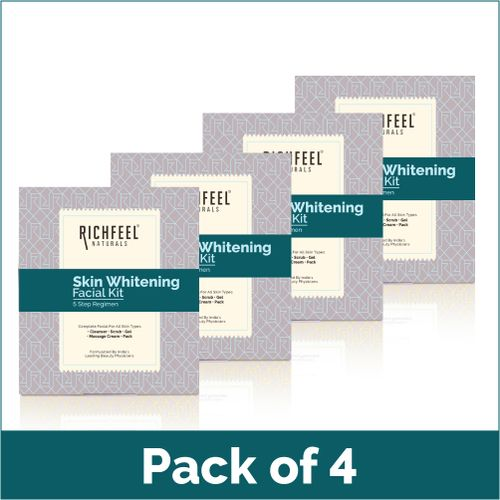 Richfeel Skin Whitening Facial Kit 5*6 Gms 30g (Pack Of 4)