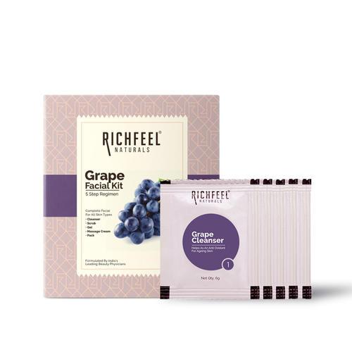 Grape Facial Kit 5x6g