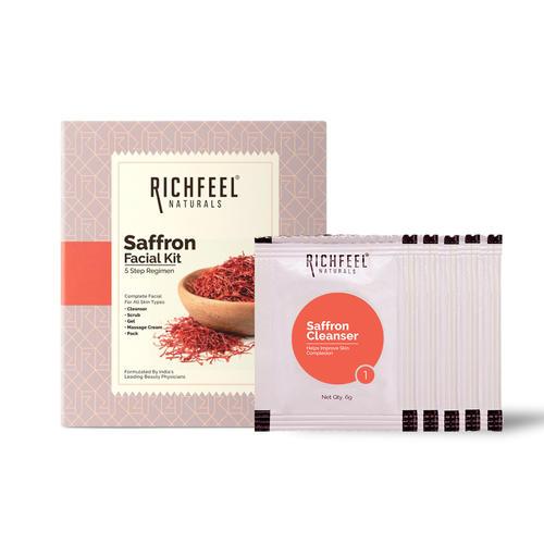 Saffron Facial Kit 5x6g