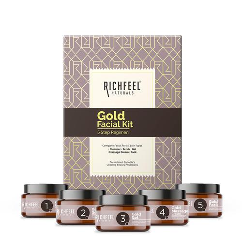 Gold Facial Kit 5x50g