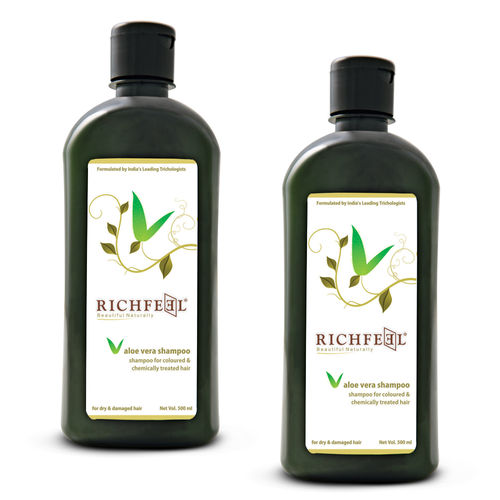 Richfeel Aloe Vera Shampoo (Pack Of 2)