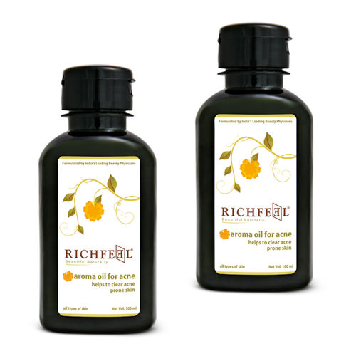 "Richfeel Oil For Acne ""100lm (Pack Of 2)"