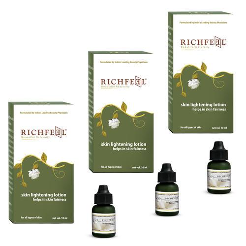 Richfeel Skin Lightening Lotion 10ml (Pack Of 3)