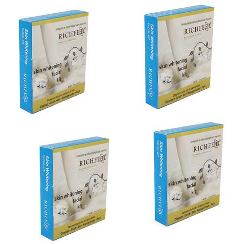 Richfeel Skin Whitening Facial Kit 5*6 Gms 30g (Pack Of 4)
