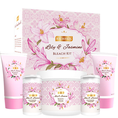 Richfeel Lily and Jasmine bleach kit - 320g