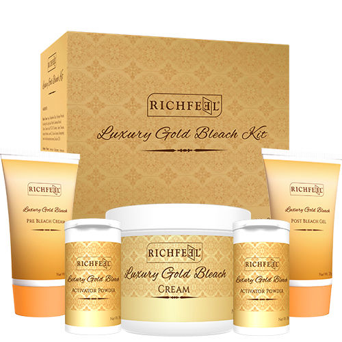 Richfeel Luxury gold bleach kit - 320g
