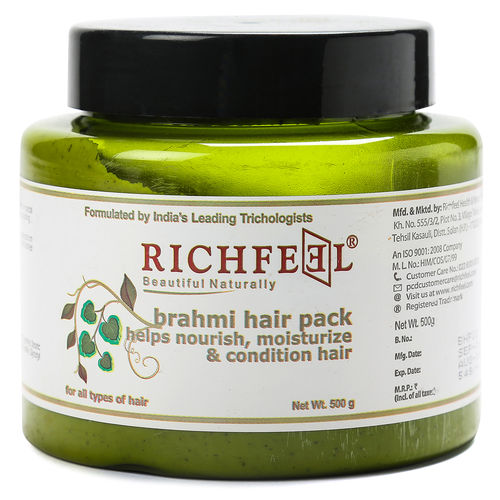 Richfeel Brahmi Hair Pack 500g