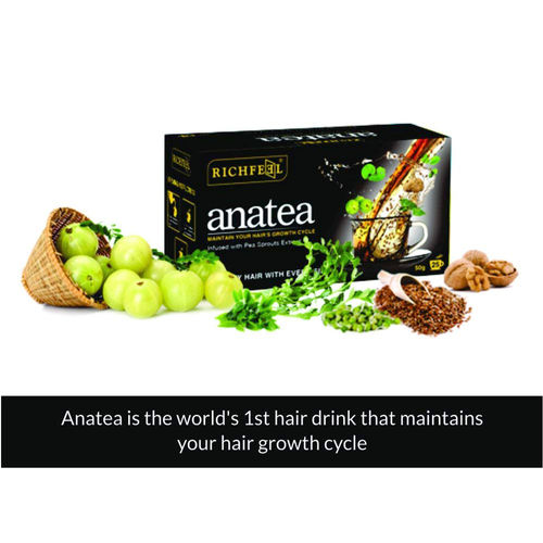 Richfeel Ana Tea (World's First Hair Drink), 50 Gm