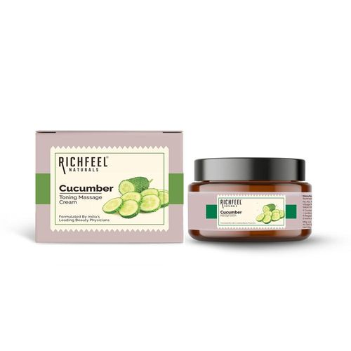 Richfeel cucumber massage cream 100g