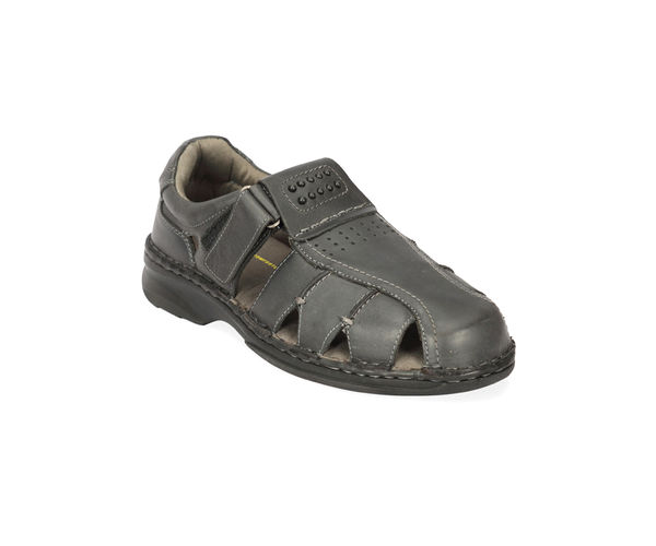Dark Grey Sandals
