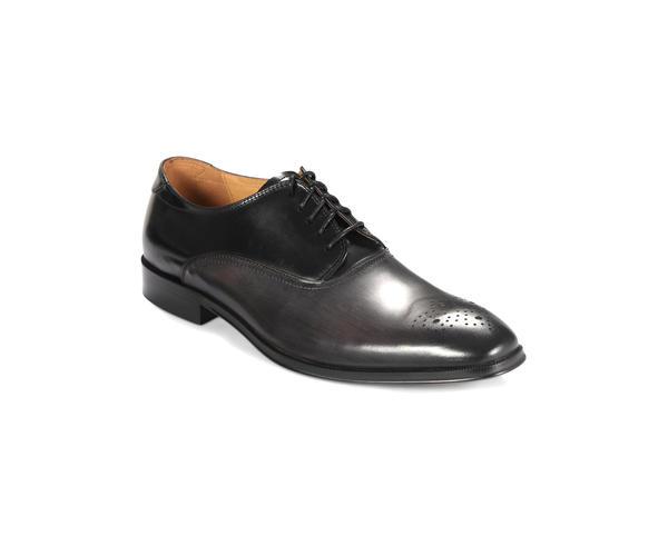 Dark Grey Derby Shoes