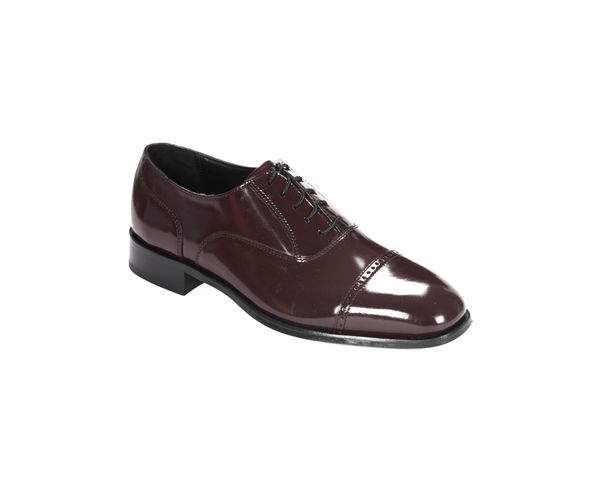 Maroon Oxfords