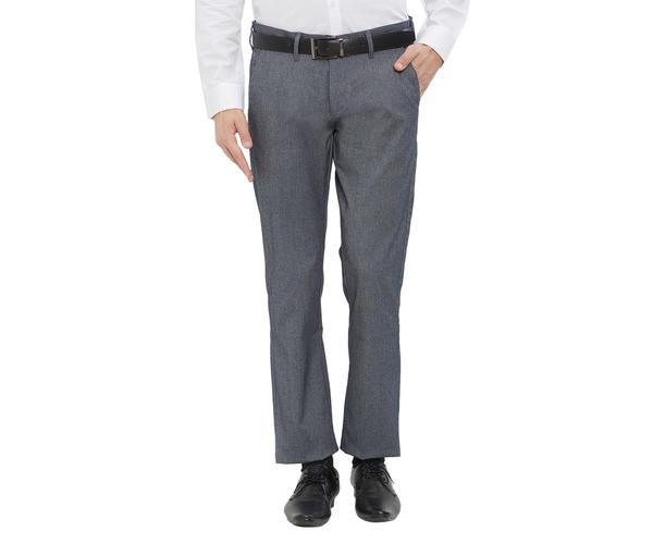 Easies by Killer Solid Grey Color Slim Fit Trouser