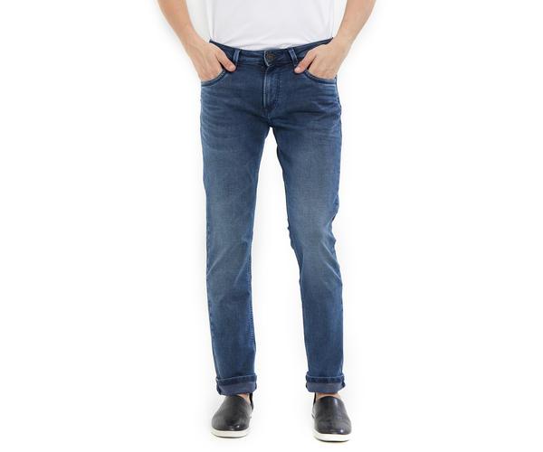 Easies by Killer Blue Color Cotton Slim Fit Jeans