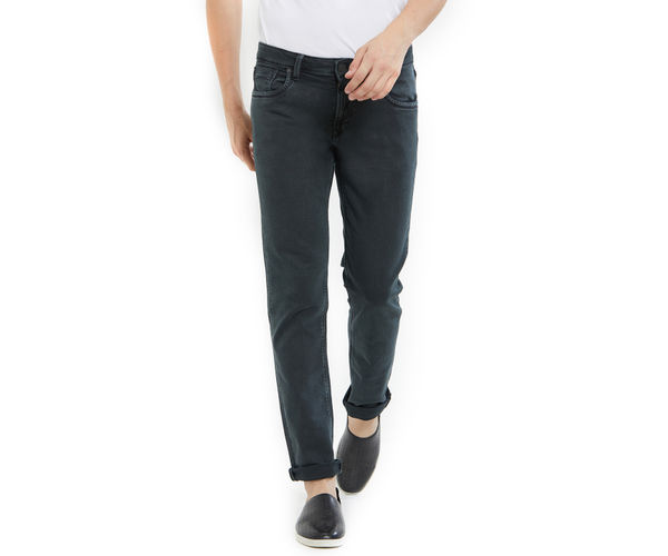 Easies by Killer Green Color Cotton Slim Fit Jeans