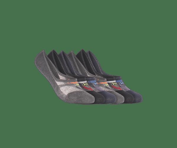 Men Pack of 6 Shoeliner Socks