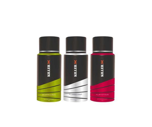 Combo Pack of 3 Deodorants