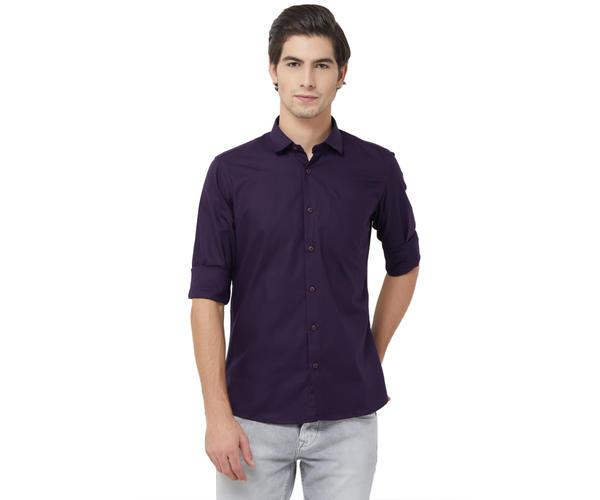 Integriti Men's Purple Shirt