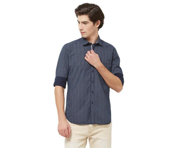 Integriti Men's Blue Shirt
