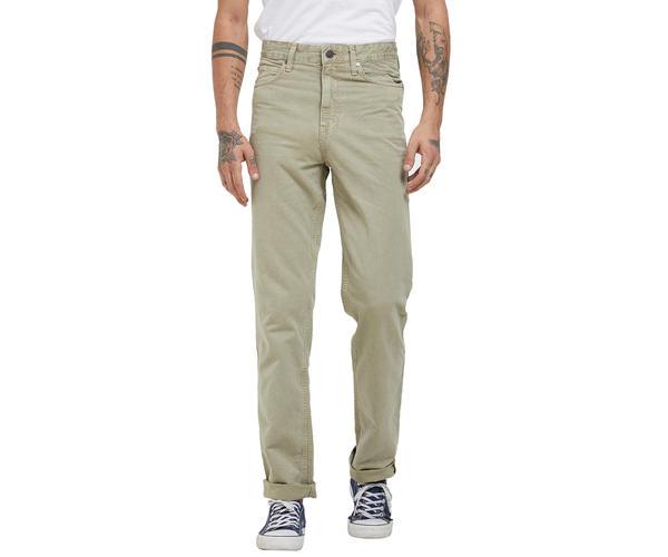 Solid Beige Color Comfort Fit Jeans