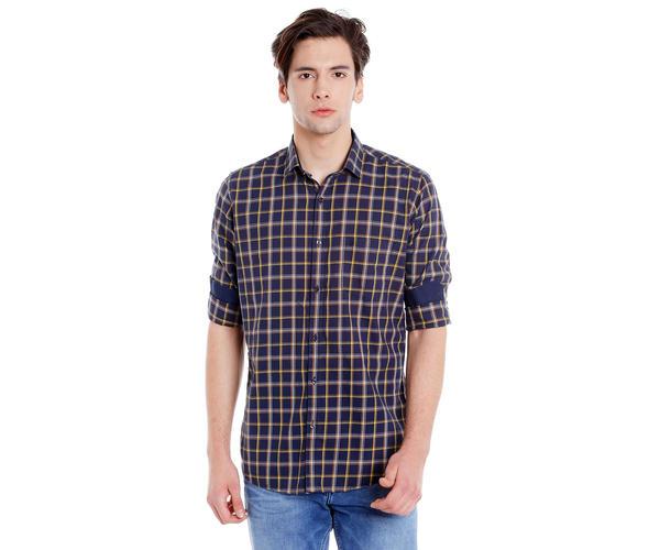 Easies Men's Slim Fit Casual Multicolor Shirt