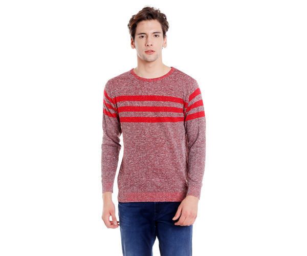 Easies Men's Red Sweater