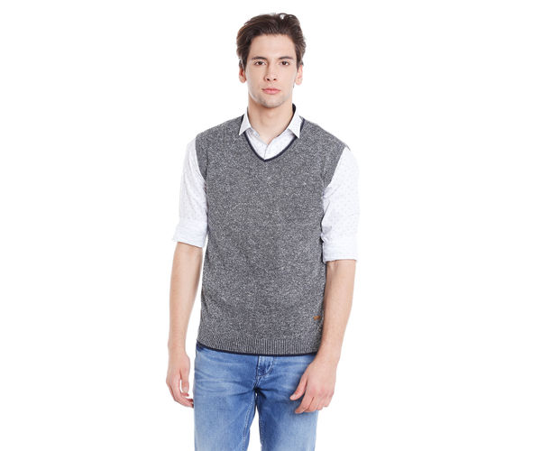 Easies Men's Grey Sweater