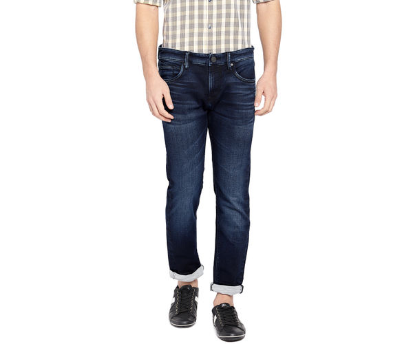 Easies By Killer Solid Blue Color Cotton Slim Fit Jeans