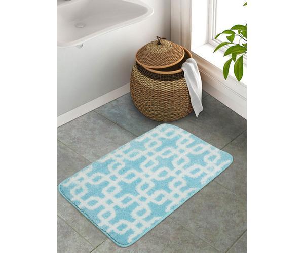 Stockholm Aqua Haze Bath Mat Small Size