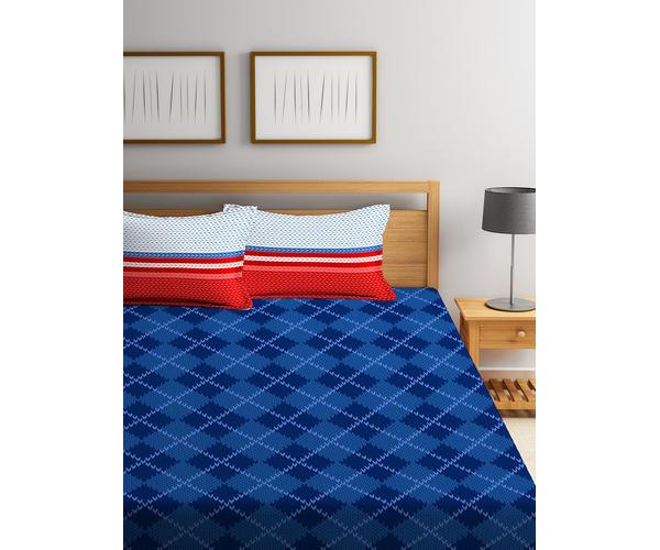 Iris Bedsheet Double Size
