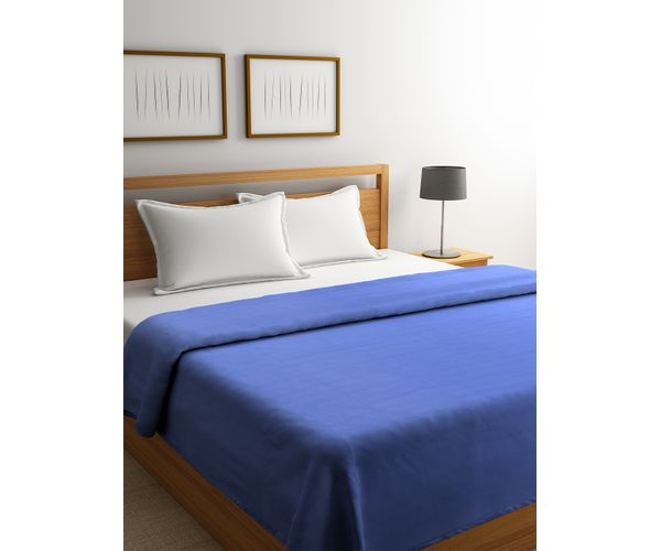 Poise Blue Shadow Blanket Double Size