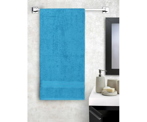 Stellar Home Crystal Collection - Mosaic Blue Bath Towel 1 Piece Bath Towel (100% Cotton, 70 x 140 cms)