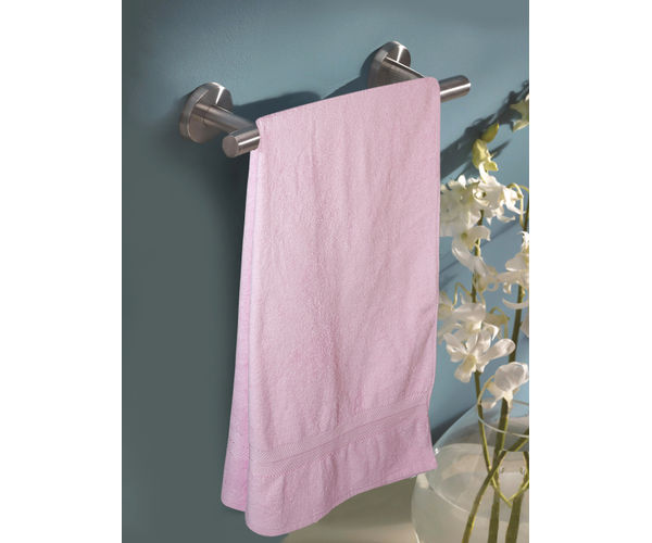 Stellar Home Crystal XI Collection - Extra Large Pink Rose 1 Piece Bath Towel, GSM - 380 (100% Cotton, 90 x 180 cms)