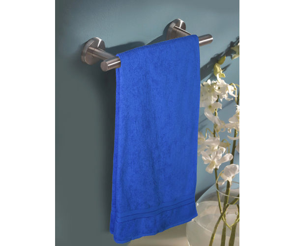 Stellar Home Crystal XI Collection - Extra Large Sapphire Blue 1 Piece Bath Towel, GSM - 380 (100% Cotton, 90 x 180 cms)