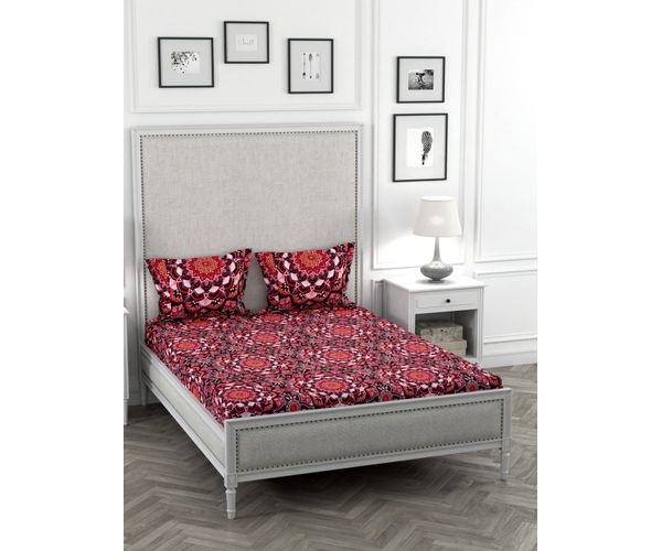 May Flower Bedsheet Double Size