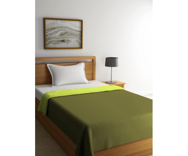 Blockbuster Wild Lime & Olive Comforter Single Size