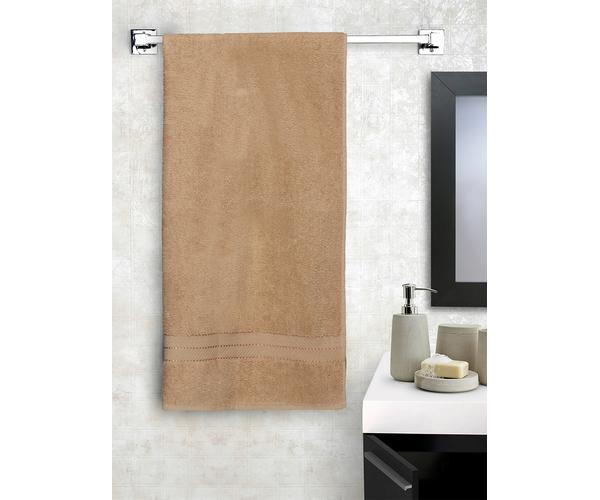 Stellar Home Crystal Collection - Small Cloud Cream 1 Piece Bath Towel, GSM - 380 (100% Cotton, 70 x 140 cms)