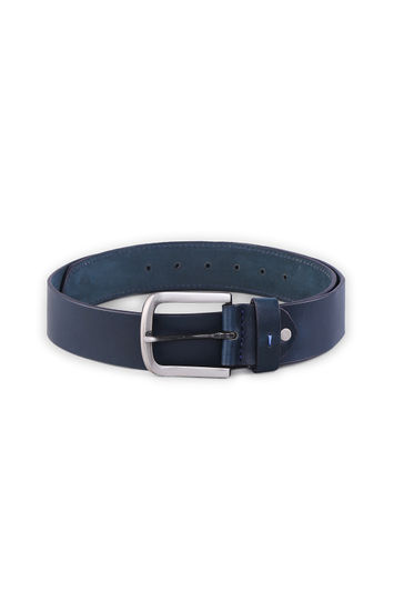 SPYKAR Navy Blue  Genuine Leather BELT