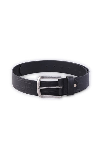 SPYKAR Black Genuine Leather BELT