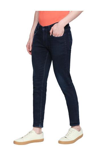 Spykar Blue Cotton Low Rise Super Skinny Fit Jeans (Super Skinny)
