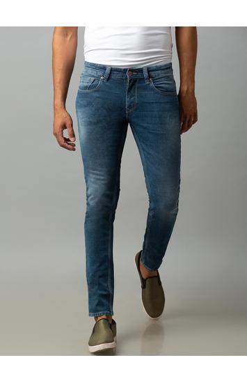 Spykar Grey Cotton Low Rise Super Skinny Fit Jeans (Super Skinny)