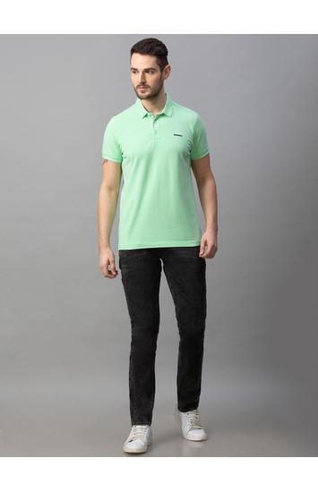 Spykar Black Cotton Low Rise Slim Fit Narrow Leg Regular Length Jeans (Skinny)